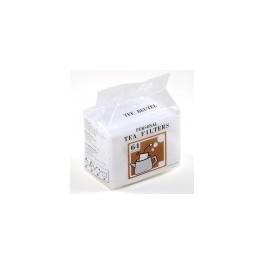 Filtre à thé en coton sachet de 64 pièces