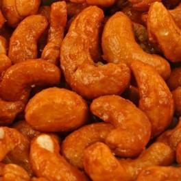 Noix de cajou bio salées, saveur chili FORT